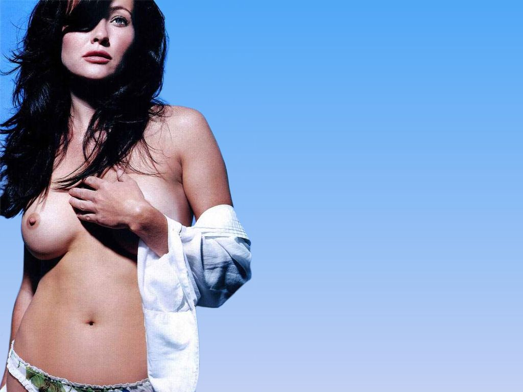 Shannen doherty nude dildo not logical